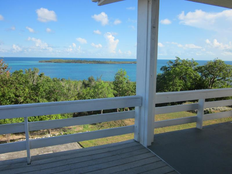External House View - Secluded  Beachfront Home in Eleuthera, Bahamas - Governor's Harbour - rentals