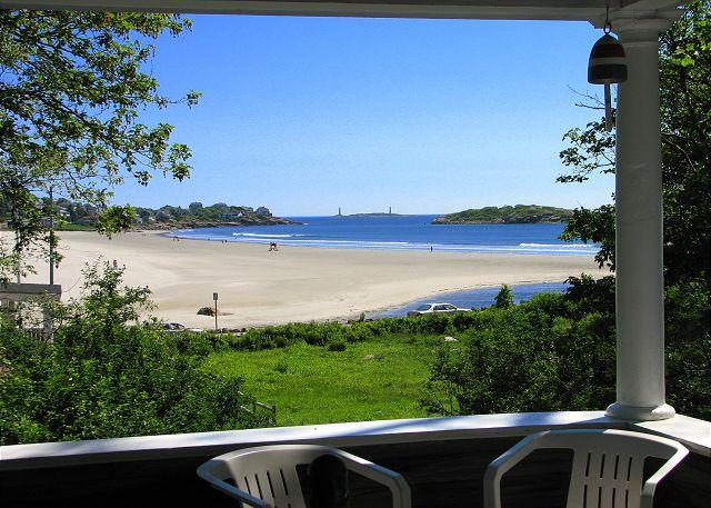 Deck View - Golden Sands at Good Harbor: Across the street from the beach - Gloucester - rentals