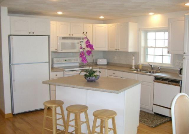Kitchen - Cher Ami: Gleaming and immaculate condo just 0.3 mi to Cressy's Beach - Gloucester - rentals
