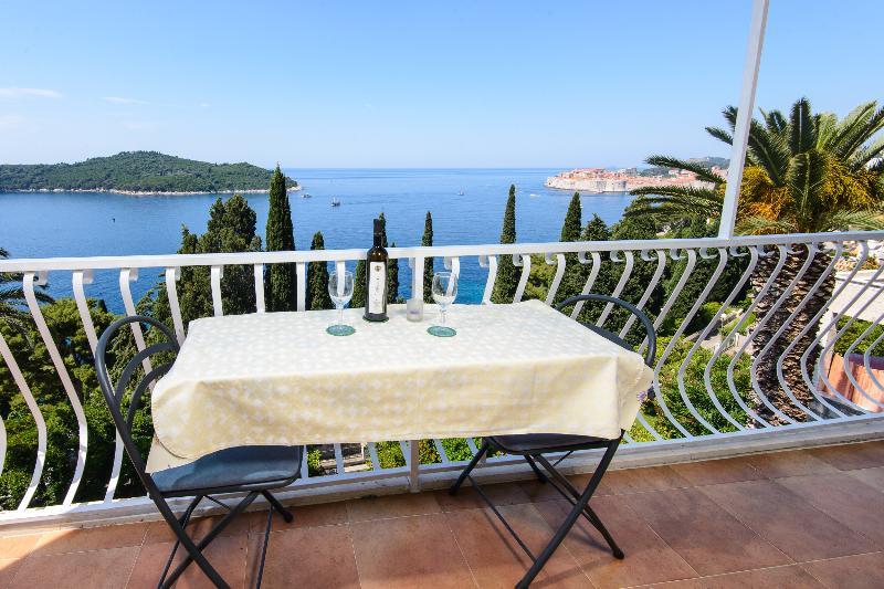 balcony panorama - Apartment Dubrovnik Tanja - Dubrovnik - rentals
