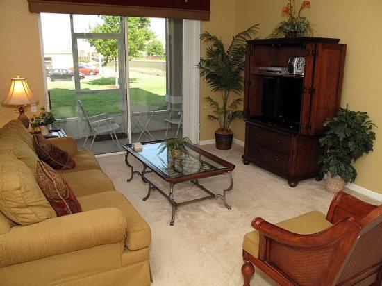 Tuscan Style 3 bedroom 2 Bath Resort Condo. 2788AL-103 - Image 1 - Orlando - rentals