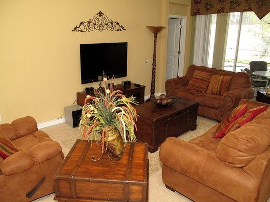 4 Bedroom 4 Bath Luxury Home in Windsor Hills Resort. 2610BS - Image 1 - Orlando - rentals