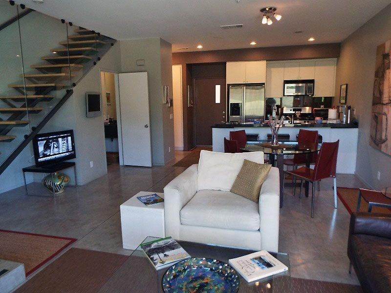 Living Room Looking to Kitchen - 48 @Arenas Two Bedroom #703 - Palm Springs - rentals