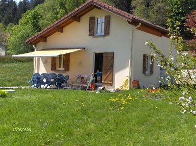 Notre gîte ouvert sur son jardin - Gîte Noa Maison De Vacances Avec Vue Panoramique Sur Les Montagnes Vosgiennes - Xonrupt-Longemer - rentals