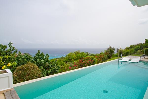 Perched hillside with splendid view of twinkling harbor lights WV ANK - Image 1 - Colombier - rentals