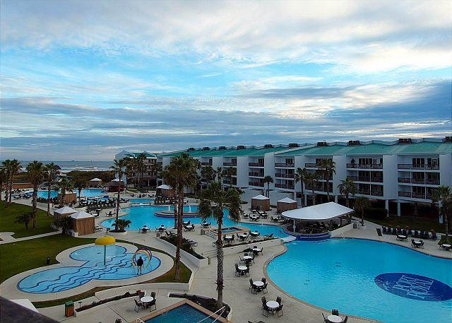 2 bedroom 2 bath condo at wonderful Port Poyal Ocean Resort! - Image 1 - Port Aransas - rentals
