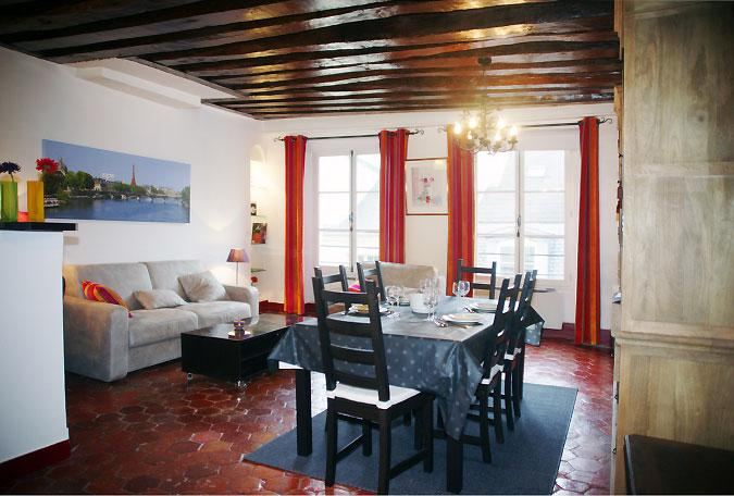 Charming Paris Apartment in Marais District - Cecile - Image 1 - Paris - rentals