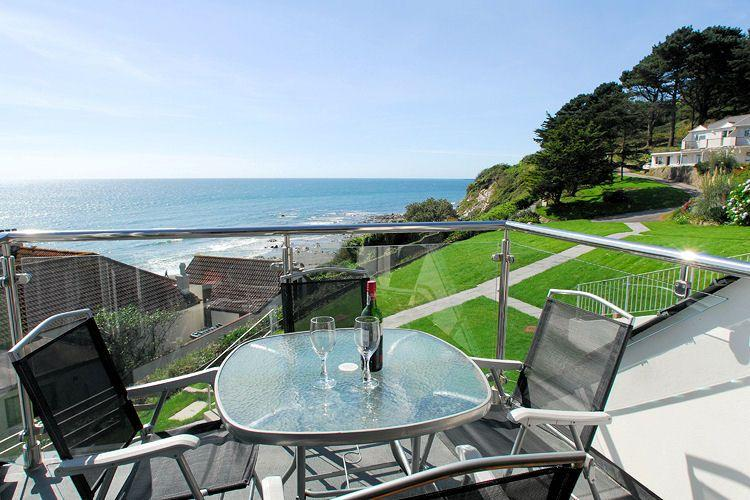 Sit back and take in the view from the balcony - 27 Mount Brioni located in Seaton, Cornwall - Looe - rentals