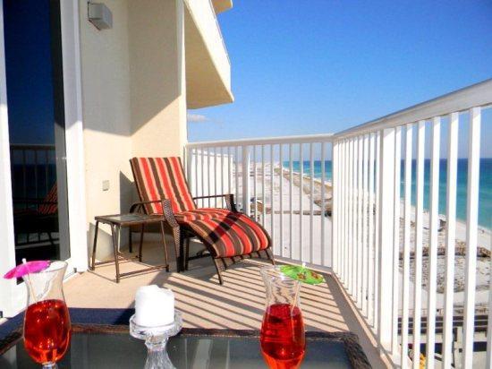 Summerwind 902E Balcony View - Summerwind Resort on Navarre Beach 902E - Navarre - rentals