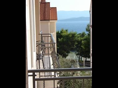A8(2+2): terrace - 03301BOL A8(2+2) - Bol - Bol - rentals