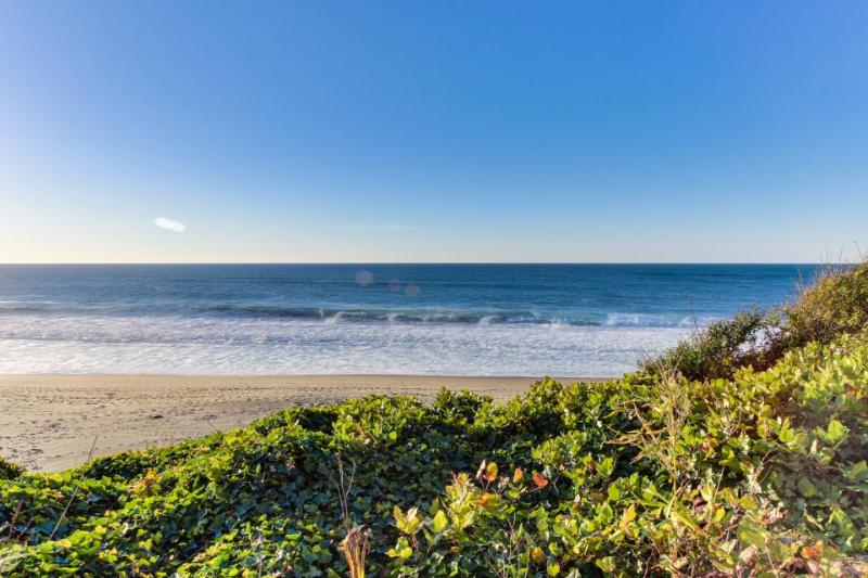 Impressive oceanfront home, boasts great views and is dog-friendly! - Image 1 - Gleneden Beach - rentals