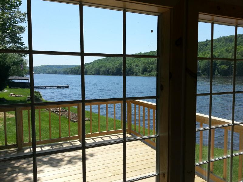 Lakefront Mountain Cabin on Page Lake - Image 1 - New Milford - rentals