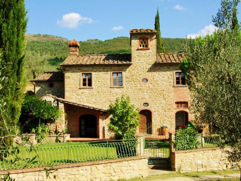 Façade - Charming independent  house in Tuscany Mulinmaria - Arezzo - rentals