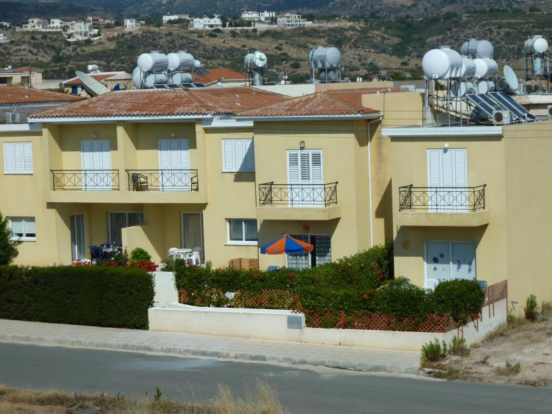 Front view of property - 4, Coral Bay Cottages - Paphos - rentals