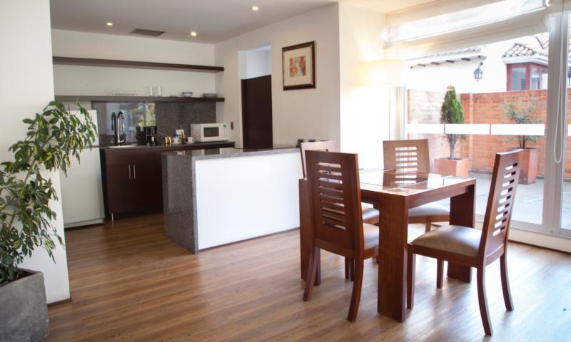 Bright Studio Apartment in Parque 93 - Image 1 - Bogota - rentals