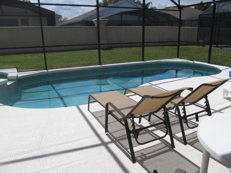 South facing private pool - South facing pool. Indian Creek 4 bedroom Home just 3 miles from Disney - Davenport - rentals