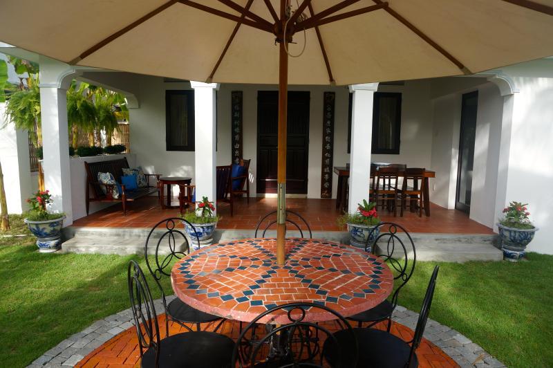 Annam House Front Verandah - Annam House, An Bang Beach, Hoi An - Hoi An - rentals