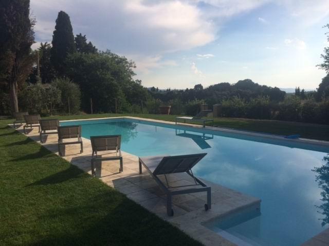 Swimming Pool - Villa Ferranino Townhouse Rentals in Alberti, Tuscany - San Giovanni d'Asso - rentals