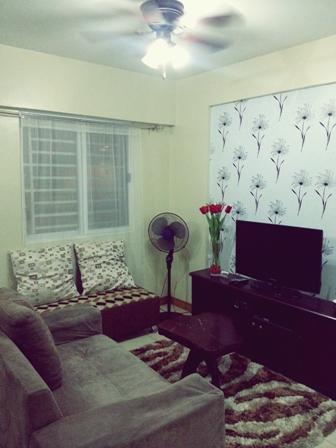 Living Room - Affordable Condo for Rent - Taft - rentals
