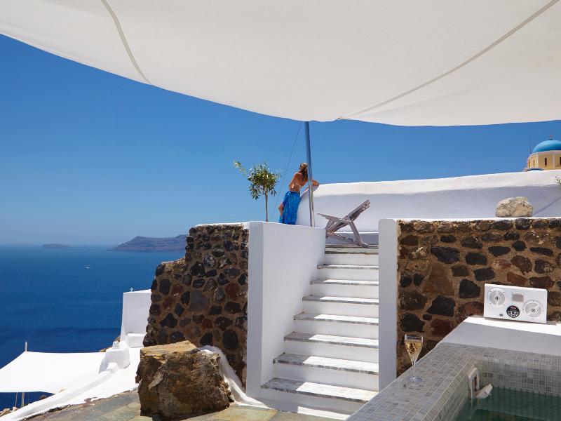 Exterior - Amaya Cave Villa - Oia - rentals