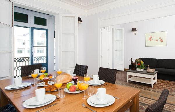 Classical Paseo de Gracia 5BR/2BA for 12 people - Image 1 - Barcelona - rentals