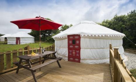 Lavender Yurt - Image 1 - Goonhavern - rentals
