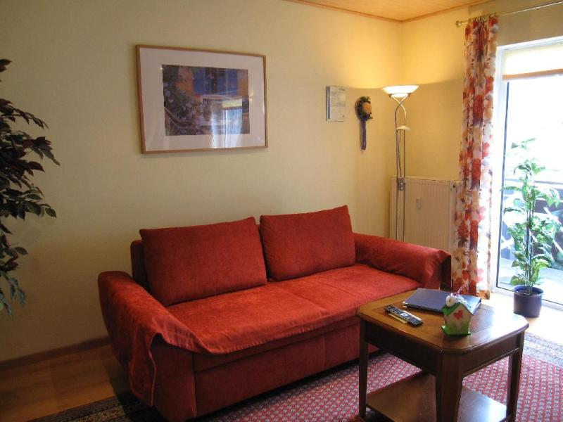 Living Room (1) - LLAG Luxury Vacation Apartment in Schwedelbach - 603 sqft, great surroundings, cozy furnishings, ample… - Schwedelbach - rentals