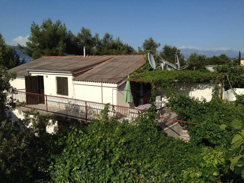 Apartment 40m from beach - Image 1 - Arbanija - rentals