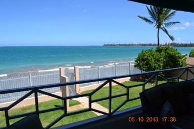 A view from the balcony - Welcome To Paradise At Luquillo Beach With Breathtaking Oceanfront Views. - Luquillo - rentals