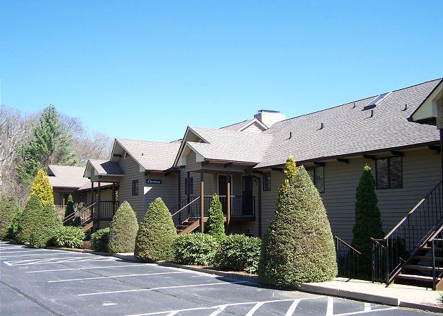 Chetola Chestnut a newly remodeled condominium with a wooded view - Image 1 - Blowing Rock - rentals
