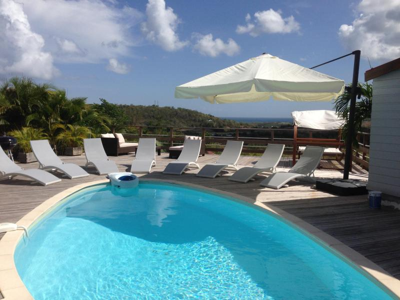 Immense terrasse vue mer - VILLA COCOON **** sea view and swimming pool - Sainte-Luce - rentals