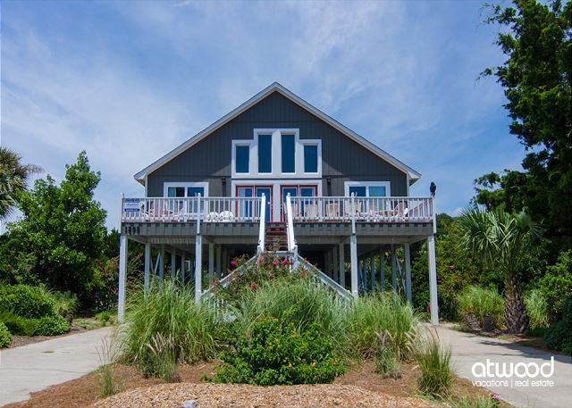 Brugger House - Ocean View, 4 Bedrooms + Loft - Image 1 - Edisto Island - rentals