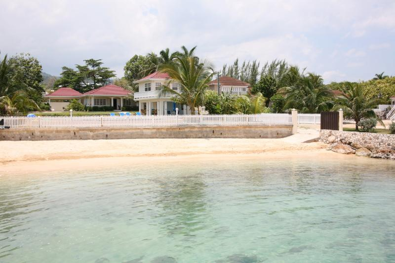 Beach and Houses - Family Fun Villa on Jamaica's Old Fort Bay Beach - Ocho Rios - rentals