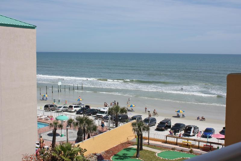 Balcony View - Suite On The Beach!  In The Heart Of Daytona Beach - Daytona Beach - rentals