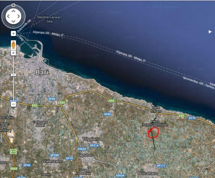 map - Bari, Your Hub in Puglia - Torre a Mare - rentals