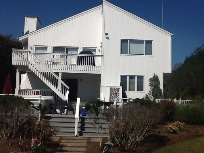 View from the water - Waterfront Paradise for boaters & family reunions! - Hampton Bays - rentals