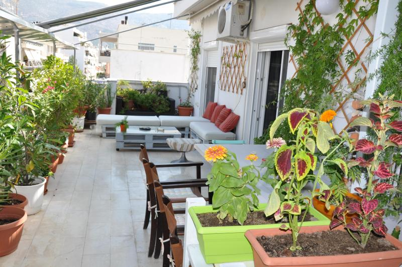 Balcony - Spacious, lightful and fresh apartment - Volos - rentals
