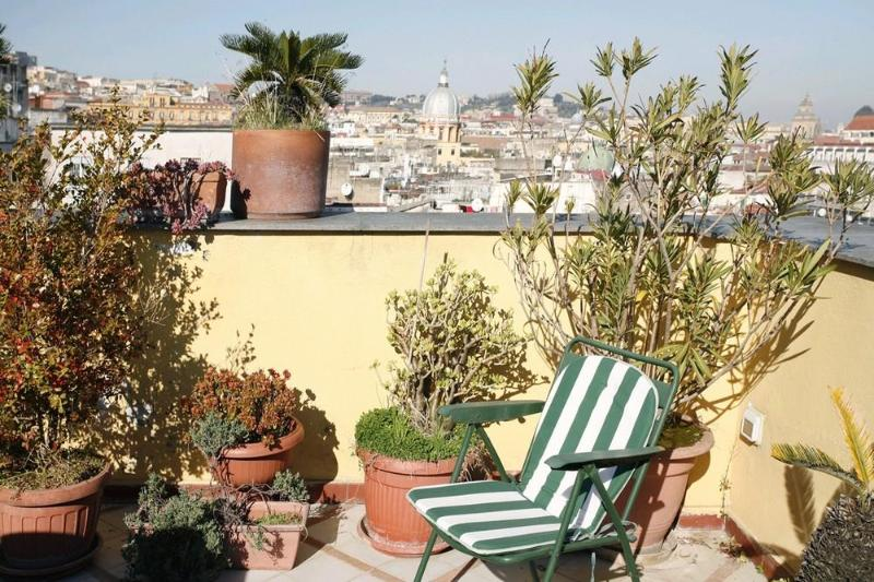 Spacious apt with great terrace center of Naples - Image 1 - Naples - rentals