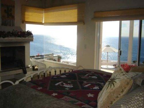Master Suite & view from the King Feather Bed - ROSARITO BED & BREAKFAST OCEAN FRONT VILLA - La Mision - rentals