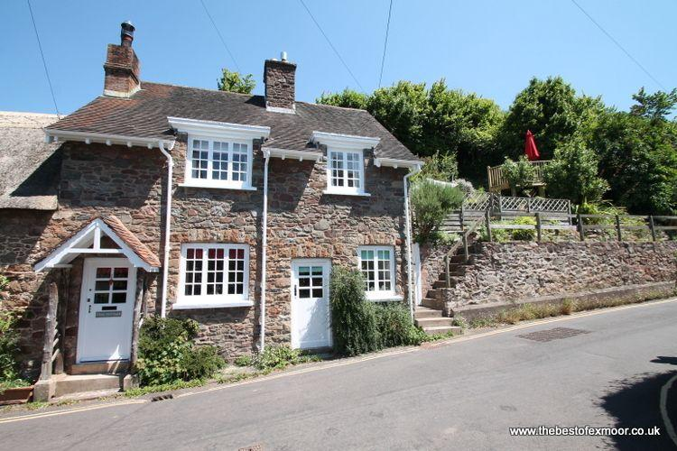 Stag Cottage, Porlock - Charming cottage with character in Porlock village on Exmoor - Image 1 - Porlock - rentals