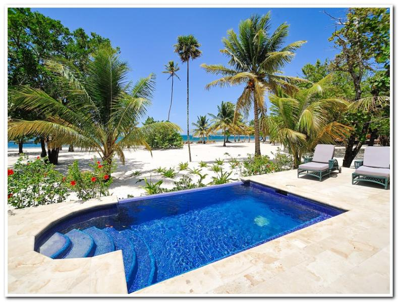 Private Swimming pool - Beachfront Bliss - Sleeps 6 - Roatan - rentals