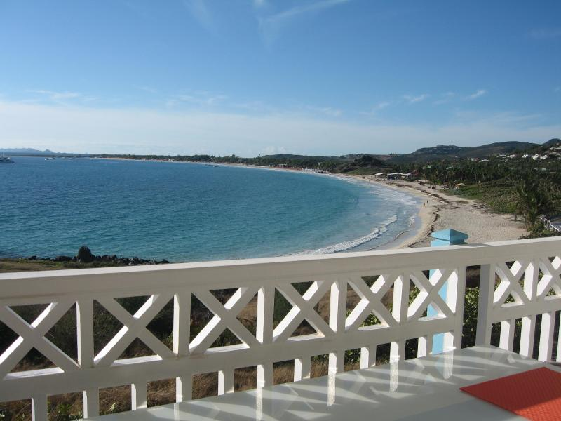View from Balcony - Astonishing Oceanfront Orient Beach Saint Martin - Orient Bay - rentals