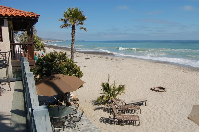 View from the Balcony - Whale Rock House 157U - Capistrano Beach - rentals