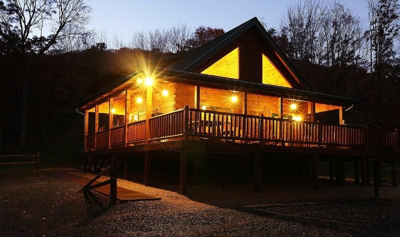 Absolute Perfect Escape #3 Sleeps 8 - Luray Cabin Rental Shenandoah Valley Mountain View - Luray - rentals