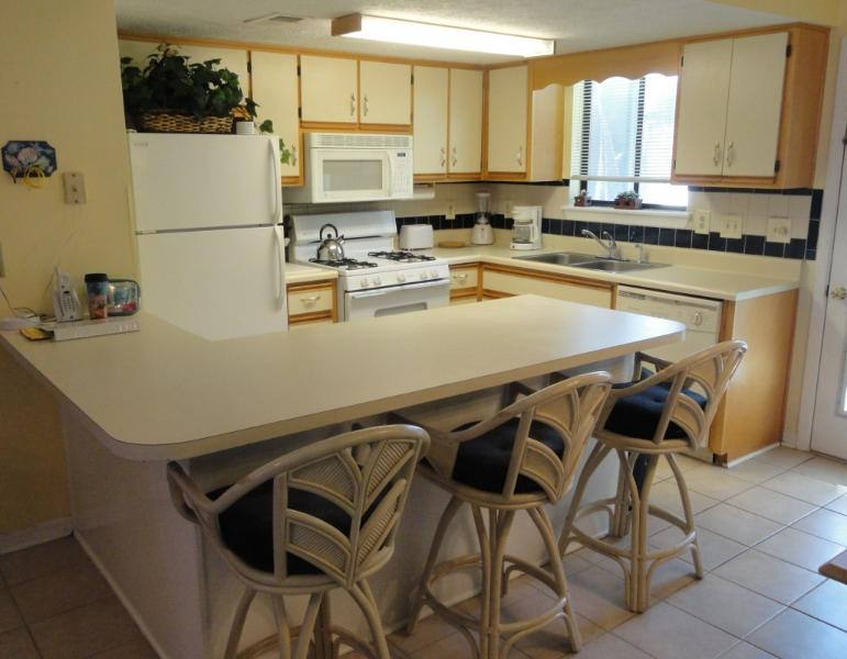 Fully stocked kitchen with everything you'll need! - 2BR Condo in Gulf Highlands Resort- Book Now!! - Panama City Beach - rentals