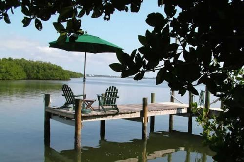 Private Dock facing Lemon Bay - Bayfront Home, Private Dock, 4 Kayaks, Broadband - Placida - rentals