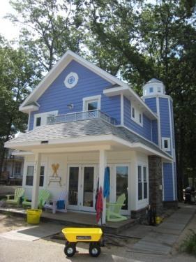 HARBOR LIGHTS NAUTICAL COTTAGE - BEACHWALK NAUTICAL COTTAGE long/short term rental - Michigan City - rentals