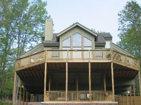 Enjoy outdoor grilling and dining or star gazing at night! - SKI SLOPES TIL APRIL 1- 3 BEDRM, 3 BATH CABIN - Davis - rentals