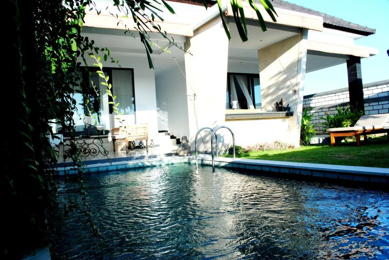 Pool and garden - NEW Villa 2bd CANGGU/Echo Beach - Canggu - rentals