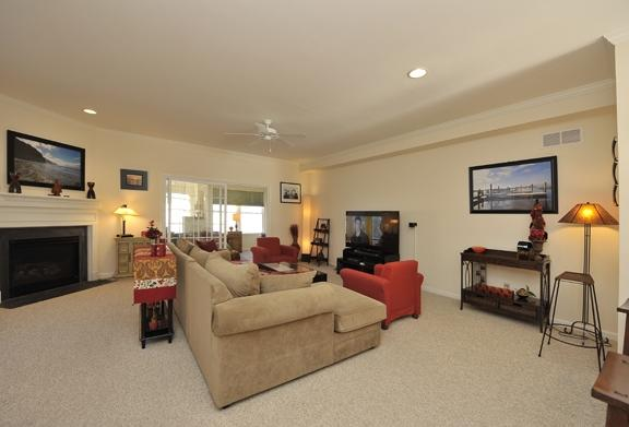 Living Area View 1 - Luxurious 3 LVL 3 BR 3.5 BA Townhome - Rehoboth Beach - rentals